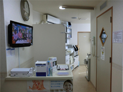 豪徳寺駅前歯科の受付